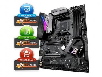 Pagrindinė plokštė ASUS ROG STRIX X370-F, X370, DDR4 3200MHz, M.2, USB3.1