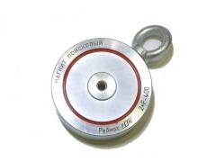 Paieškos magnetas 2F400 (ДВУСТОРОННИЙ) Super strong retrieving magnet Metāla detektori un piederumi