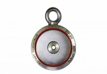 Paieškos magnetas 2F600 (ДВУСТОРОННИЙ) Super strong retrieving magnet Metāla detektori un piederumi