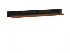 Pakabinama lentyna Arosa POL/150 rudas ąžuolas Baldų kolekcija AROSA