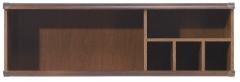 Pakabinama lentyna Indiana JPOL120 ąžuolas suter Mēbeļu kolekcijas, indiana