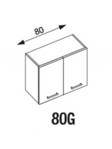 Pakabinama spintelė Amanda2 80G Навесные кухонные шкафы