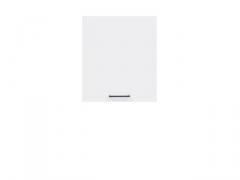 Pakabinama spintelė Junona G1D/50/57_LP balta blizgi Virtuvės spintelių kolekcija Junona