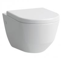 Pakabinamas unitazas Pro Rimless Compact be nuplovimo lanko (360 x 490 x 430 mm), baltas