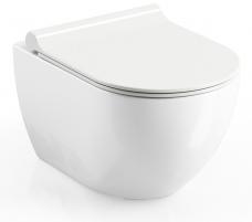 Pakabinamas WC Ravak, Uni Chrome Rimoff Lavatory closets
