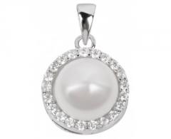Pakabukas Beneto Stříbrný přívěsek s perlou AGH31
