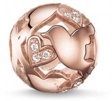 Pakabukas Thomas Sabo Bronze enamored bead K0132-416-14 Piekariņi