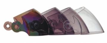 Pakeičiamas organinio stiklo skydelis Shield V518 šalmui Motociklininkų šalmai