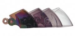Pakeičiamas organinio stiklo skydelis V570 šalmui