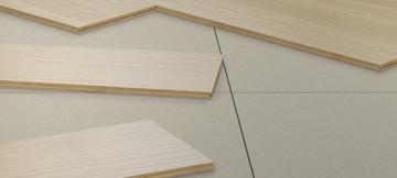 Paklotas MaxPod 3mm storio 1mx0.5m (1dėžė-80m2) Decking floor coverings