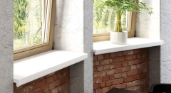 windowsill PLAST 20 CM BALTA 6M VOX Pvc window sills