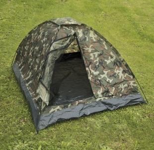 Tent Mil-Tec Woodland Igloo 2 Camping tents