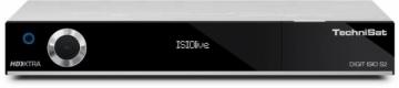Palydovinės televizijos imtuvas TechniSat DIGIT ISIO S2, Tiuneris DVB-S, sidabrinis Sat TV, TV imtuvai, moduliai