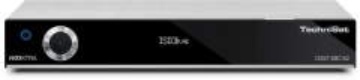 Palydovinės televizijos imtuvas TechniSat DIGIT ISIO S2, Tiuneris DVB-S, sidabrinis Sat tv, tv tuners, modules