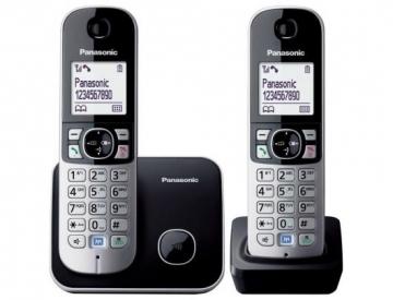 PANASONIC KX-TG6812FXB Telefonas (j) Wireless phones