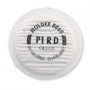 Papildomų dalelių filtras P1 D puskaukėms MOLDEX Respiratory protection filters
