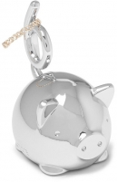 Papuošalų dėžutė Umbra Jewelry box SQUIGGY PIG chrome 1012678158 Jewelry boxes