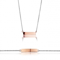 Papuošalų komplektas Emily Westwood Set of steel jewelry WS026RS Papuošalų komplektai