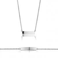 Papuošalų komplektas Emily Westwood Set of steel jewelry WS026S Papuošalų komplektai