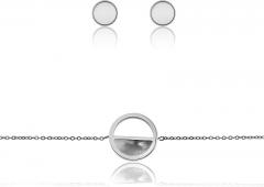 Papuošalų komplektas Emily Westwood Set of steel jewelry WS035S Papuošalų komplektai