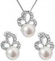 Papuošalų komplektas Evolution Group Luxury silver set with real pearls Pavona 29010.1 Papuošalų komplektai
