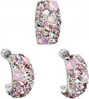 Papuošalų komplektas Evolution Group Romantic jewelry set Magic Rose 39116.3 Papuošalų komplektai