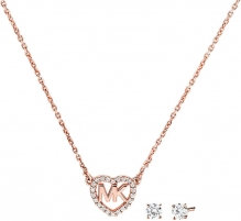 Papuošalų komplektas Michael Kors Luxury silver set MKC1173AN791 Juvelierizstrādājumi komplekti