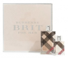 Parfumuotas vanduo Burberry Brit EDP 100 ml (Rinkinys)
