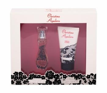 Parfumuotas vanduo Christina Aguilera Christina Aguilera EDP 15ml (Rinkinys) Kvepalų ir kosmetikos rinkiniai