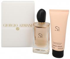 Parfumuotas vanduo Giorgio Armani Si EDP 100ml (Rinkinys 1) Kvepalų ir kosmetikos rinkiniai
