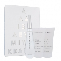 Perfumed water Issey Miyake L´Eau D´Issey Pure EDP 50ml (Set 5)
