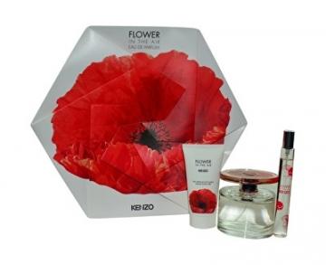 Parfumuotas vanduo Kenzo Flower In The Air EDP 100 ml + EDP 15 ml + kūno pienelis 50 ml (Rinkinys) Kvepalų ir kosmetikos rinkiniai