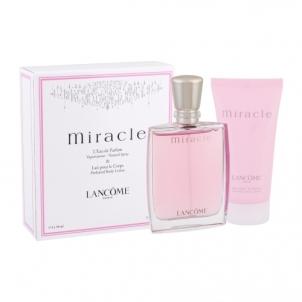 Parfimērijas ūdens Lancome Miracle EDP 50ml (komplekts 5) Kvepalų ir kosmetikos rinkiniai