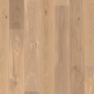 Parketlentė Ąžuolas Animoso matt white X-press 3 juostų Koka grīdas segumi (parketa grīdas dēļi)