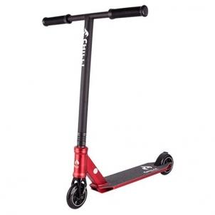 Paspirtukas Chilli 3000-45cm HIC-110mm red/black Paspirtukai, balansiniai dviračiai