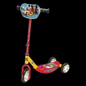 Paspirtukas Smoby Mickey 3W.Scooter Paspirtukai, balansiniai dviračiai