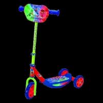 Paspirtukas Smoby PJ Masks 3W.Scooter Paspirtukai, balansiniai dviračiai
