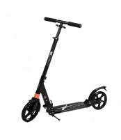 Paspirtukas Urban su amortizatoriais (dideli ratai) juodas Paspirtukai, balansiniai dviračiai