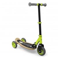 Paspirtukas Wooden Foldable 3-wheel scooter