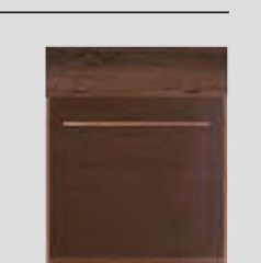 Pastatoma spintelė BR/5 Bruno furniture collection