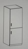 Pastatoma spintelė Luna D60 R