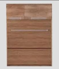 Pastatoma spintelė MAN/5 Manhattan mēbeļu kolekcija