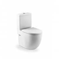 Acting toilet Roca Meridian Compact with bakeliu. Lavatory closets