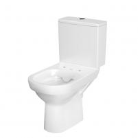Pastatomas WC Cersanit, City Clean-On su dangčiu