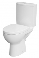 Pastatomas WC Cersanit, Parva Clean-On with slow rectractable cover Lavatory closets