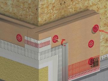 Pastatų šilumos izoliacijos sistema BAUMIT NATURE SYSTEM Pastatų šilumos izoliacijos sistemos