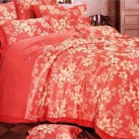 Patalynės komplektas ''Raudona Svaja'', 6 dalių, 200x220 cm