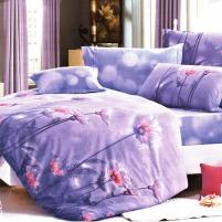 Patalynes komplektas ''Violetinė Istorija'', 4 dalių, 200x220 cm