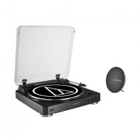 Patefonas Audio Technica Bluetooth Turntable System + Bluetooth portable speaker Muzikiniai centrai, patefonai