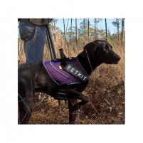 Pavadys šuniui PETKIT Harness Air, M size Blue/Orange Antkakliai pavadžiai šunims
